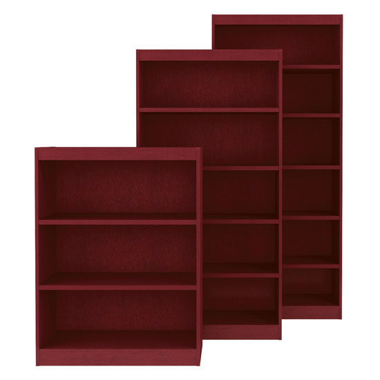 Square Edge Bookcases