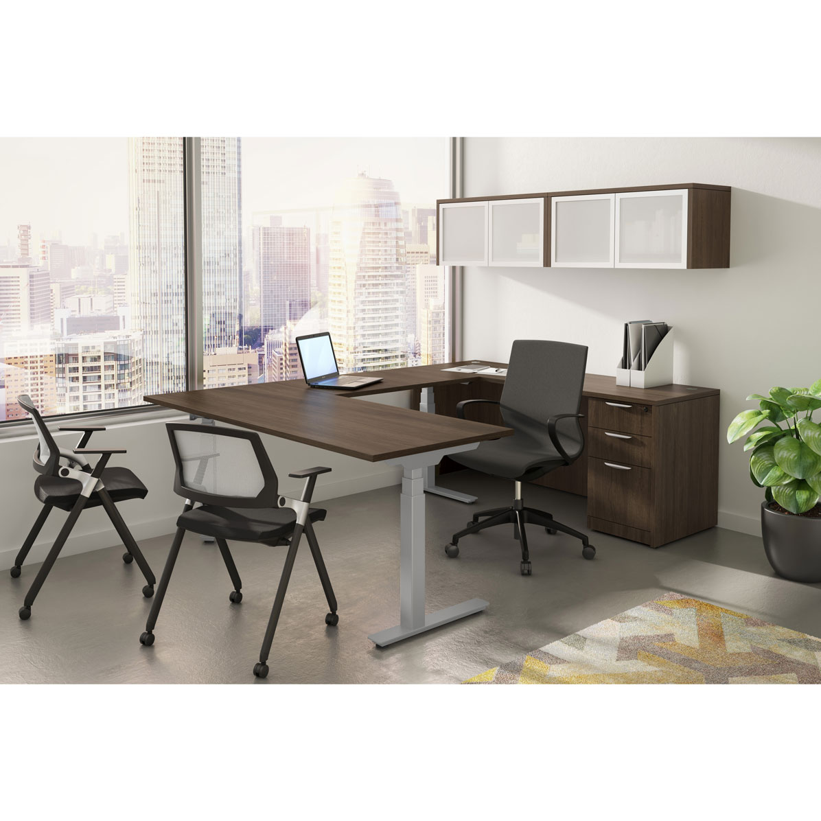 OfficeSource StandUp Standing Desk Collection Typical OS165