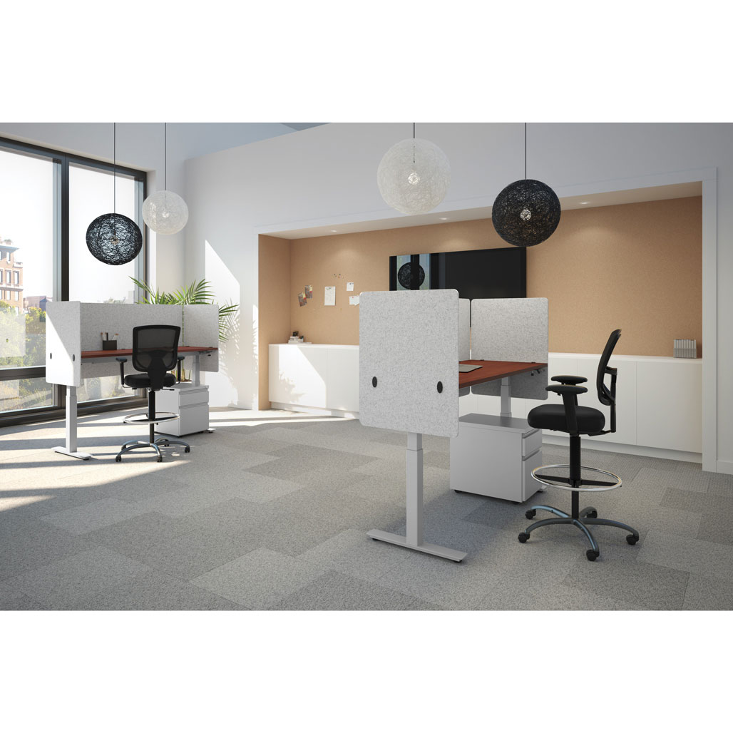 OfficeSource Standup Standing Desk Collection Height Adjustable Typical – OS224