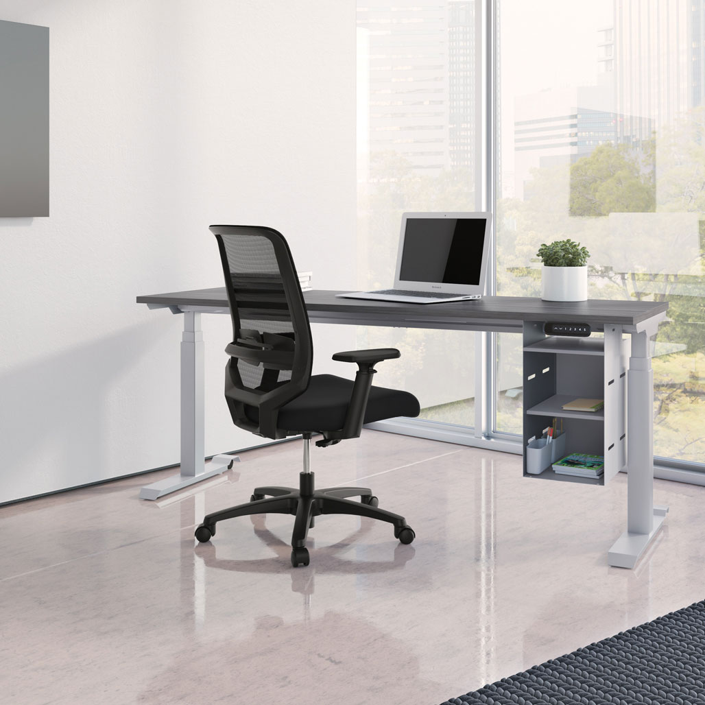 OfficeSource Standup Standing Desk Collection Height Adjustable Typical – OS225