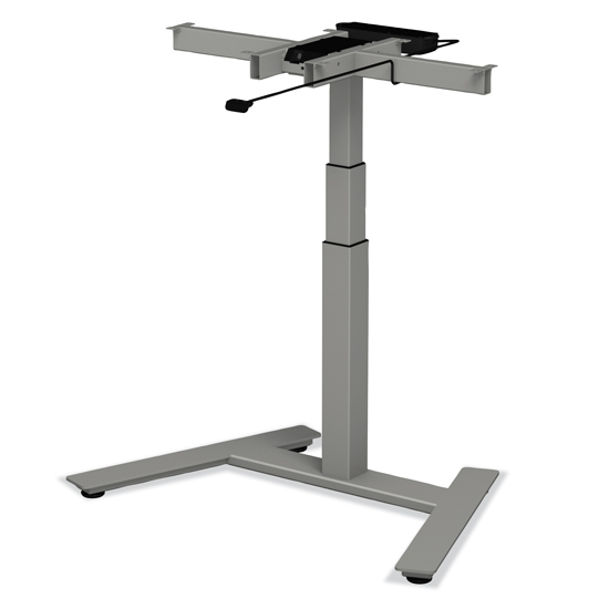Electric Single Post Adjustable Base
