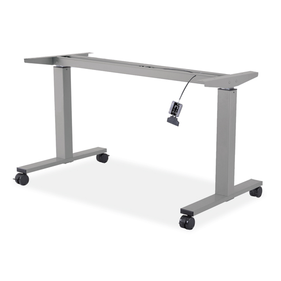 Pneumatic Height Adjustable Base with Casters