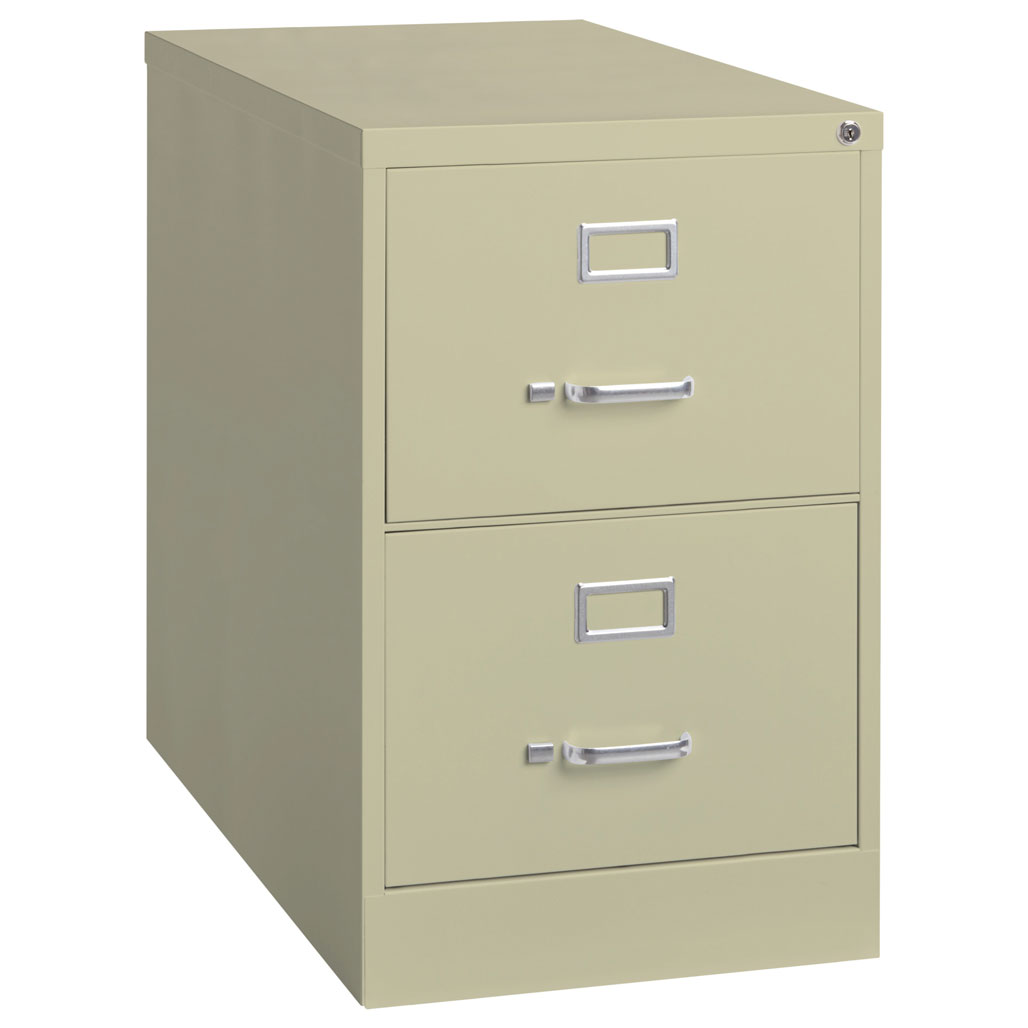 OfficeSource Steel Vertical File Collection 2 Drawer Vertical File Cabinet, 25″ Deep, Legal