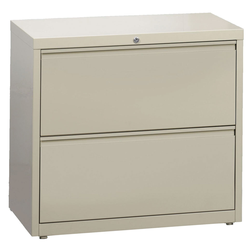 OfficeSource Steel Lateral File Collection 2 Drawer Lateral File Cabinet, 30″ Wide