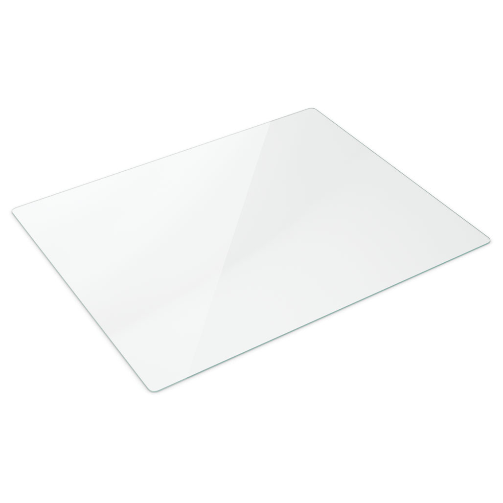 OfficeSource Tempered Glass Chair Mats 48″ x 60″ Glass Chair Mat