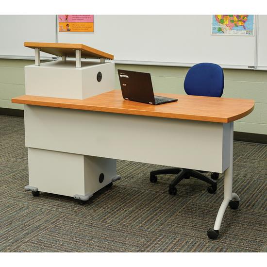 Mobile Podium Desk