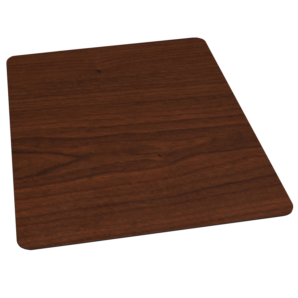 OfficeSource by ES Robbins Trendsetter Designer Chairmats Rectangular Chairmat for Hard Floors – Non-Cleated