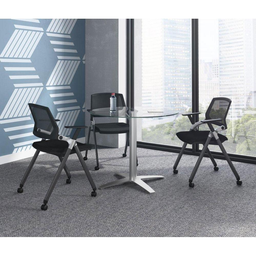 Armless Flex Back Nesting Chair