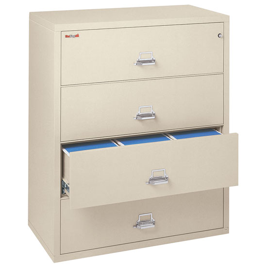4 Drawer Lateral Letter and Legal File – 44-1/2″ Wide