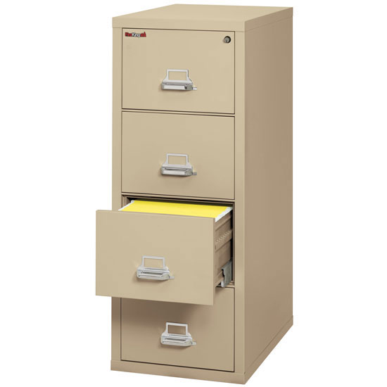4 Drawer Letter File