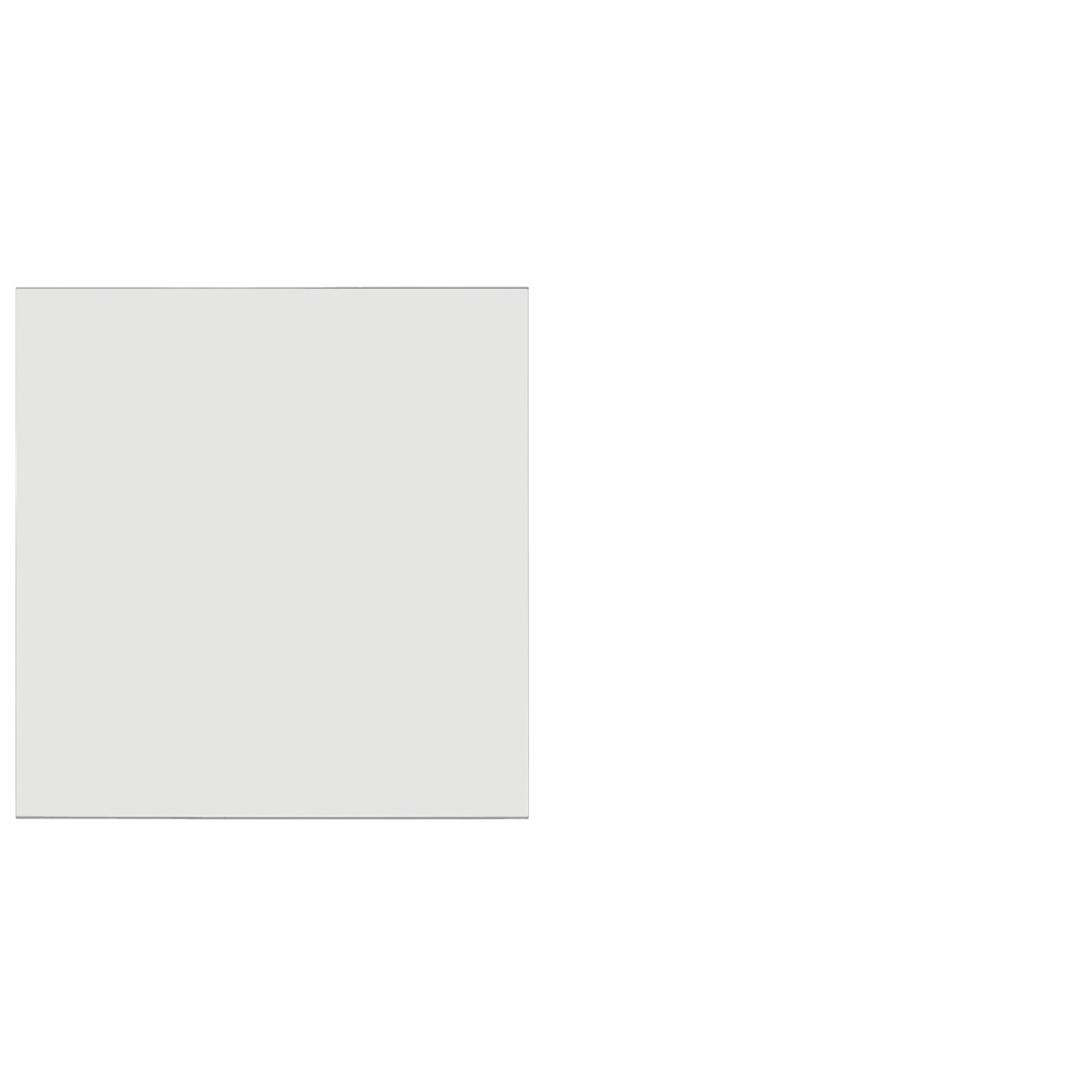 Frosted Acrylic Screen with Square Edges – 36″W x 24″H