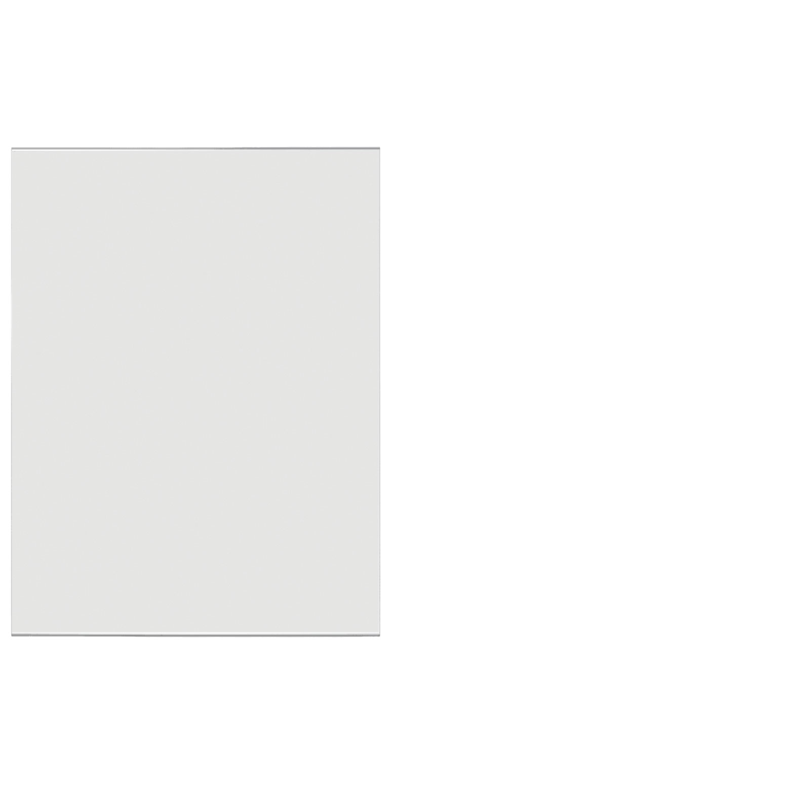 Frosted Acrylic Screen with Square Edges – 36″W x 30″H