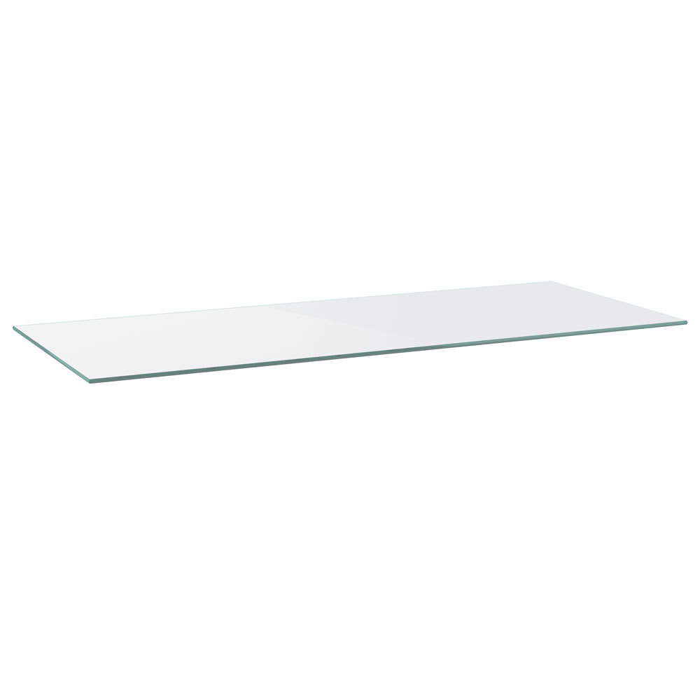 OfficeSource Variant Collection Rectangular Glass Top
