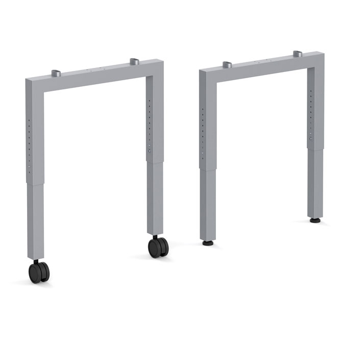 Adjustable Height Unite Leg Base - 24''