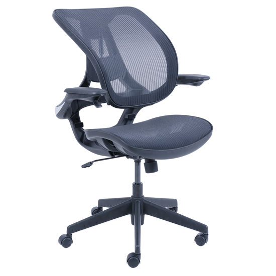 Mesh Chair With Infinite Support Technology With Black