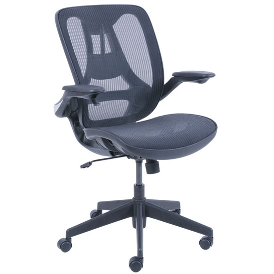 Mesh Chair with Infinite Support Technology with Black Frame