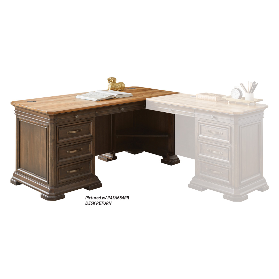 Right Hand Facing Pedestal L- Desk