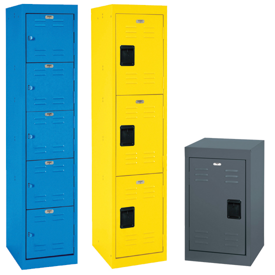 Welded Storage Lockers