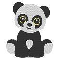 Fichier à broder gratuit :Panda mignon
