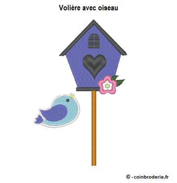 20170311 - Voliere avec oiseau - coinbroderie.fr