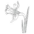 Fichier à broder gratuit :Narcisse