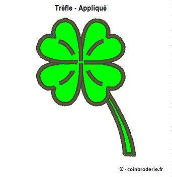 20170317 - Trefle - Applique - coinbroderie.fr