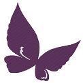 Fichier à broder gratuit :Papillon abstrait