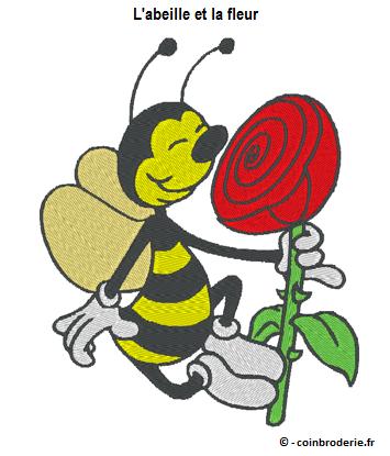 20170320 - L abeille et la fleur - coinbroderie.fr