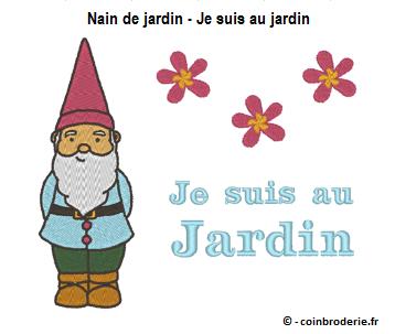 20170325 - Nain de jardin - Je suis au jardin - coinbroderie.fr