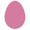 Fichier à broder gratuit :Oeuf de pâques avec décoration