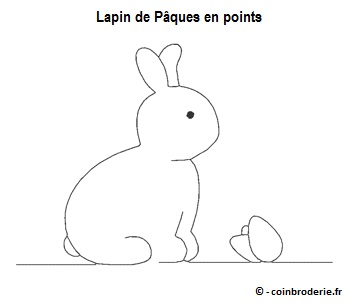 20170411 - Lapin de Paques en points - coinbroderie.fr
