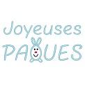 Fichier à broder gratuit :Joyeuses Pâques