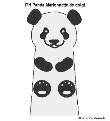 20170427 - ITH Panda Marionnette de doigt - coinbroderie.fr