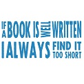 Fichier à broder gratuit :	If a book is well written
