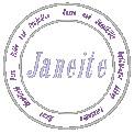 Fichier à broder gratuit :Janeite logo