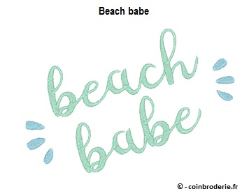 20170630 - Beach babe - coinbroderie.fr
