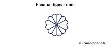 20170703 - Fleur en ligne - mini - coinbroderie.fr