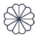 Fichier à broder gratuit :Fleur en ligne - mini