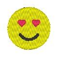 Fichier à broder gratuit :Love Emoji
