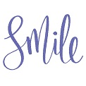 Fichier à broder gratuit :Smile
