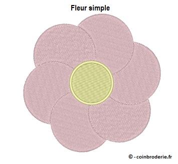 20170721 - Fleur simple - coinbroderie.fr
