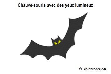 20170725 - Chauve-souris avec des yeux lumineux - coinbroderie.fr