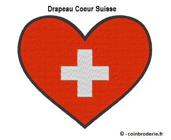 20170804 - Drapeau Coeur Suisse - coinbroderie.fr
