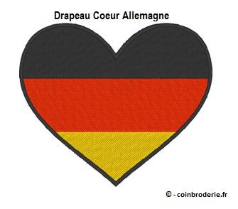 20170805 - Drapeau Coeur Allemagne - coinbroderie.fr
