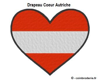 20170808 - Drapeau Coeur Autriche - coinbroderie.fr