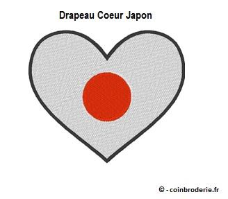 20170814 - Drapeau Coeur Japon - coinbroderie.fr
