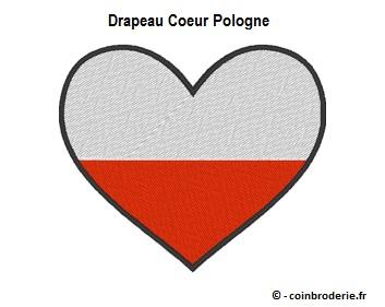 20170817 - Drapeau Coeur Pologne - coinbroderie.fr