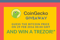 Coingecko trezor giveaway 200
