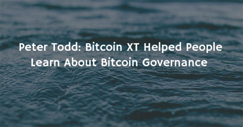 Bitcoin xt article toddxt 484