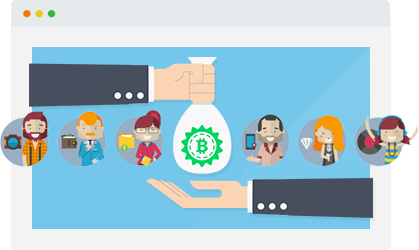 Cryptocurrency facebook banner image